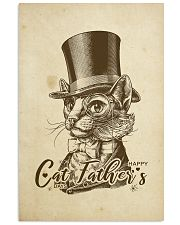 cat father's day 24x36 Poster front