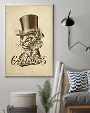 cat father's day 24x36 Poster lifestyle-poster-1