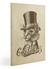 cat father's day Gallery Wrapped Canvas Prints tile