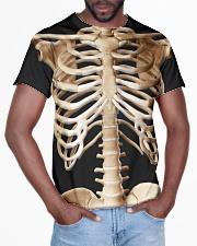Human body skeleton bones Tshirt All-over T-Shirt aos-all-over-T-shirt-lifestyle-front-03