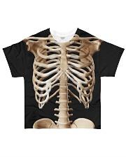 Human body skeleton bones Tshirt All-over T-Shirt front