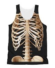Human body skeleton bones Tshirt All-Over Unisex Tank tile