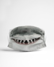 White Shark Mouth 3D  Cloth face mask aos-face-mask-lifestyle-22