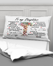 To my granddaughter I hugged this soft  Rectangular Pillowcase aos-pillow-rectangular-front-lifestyle-03
