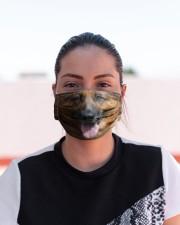 German Shepherd 3D  Cloth face mask aos-face-mask-lifestyle-03