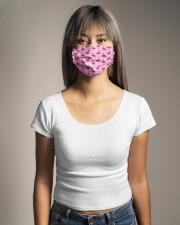 Flamingos  Cloth face mask aos-face-mask-lifestyle-15