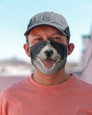 Border Collie  Cloth face mask aos-face-mask-lifestyle-06