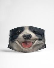 Border Collie  Cloth face mask aos-face-mask-lifestyle-22
