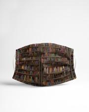 Librarian Books  Cloth face mask aos-face-mask-lifestyle-22