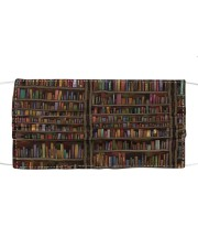 Librarian Books  Cloth face mask front