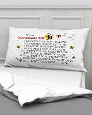 To my granddaughter I hugged this soft  Rectangular Pillowcase aos-pillow-rectangular-front-lifestyle-03