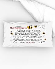 To my granddaughter I hugged this soft  Rectangular Pillowcase aos-pillow-rectangular-front-lifestyle-04