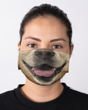 Golden Retriever 3D Cloth face mask aos-face-mask-lifestyle-01