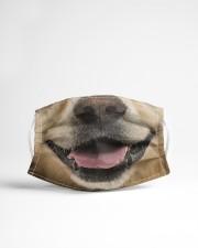 Golden Retriever 3D Cloth face mask aos-face-mask-lifestyle-22