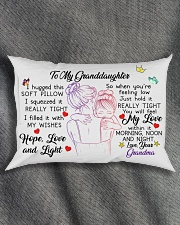 I hugged this soft pillow - TAGOTEE Rectangular Pillowcase aos-pillow-rectangle-front-lifestyle-1