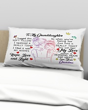 I hugged this soft pillow - TAGOTEE Rectangular Pillowcase aos-pillow-rectangular-front-lifestyle-01