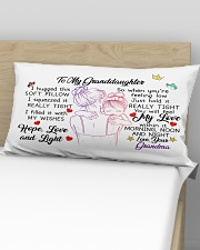 I hugged this soft pillow - TAGOTEE Rectangular Pillowcase aos-pillow-rectangular-front-lifestyle-02