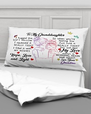 I hugged this soft pillow - TAGOTEE Rectangular Pillowcase aos-pillow-rectangular-front-lifestyle-03