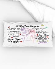 I hugged this soft pillow - TAGOTEE Rectangular Pillowcase aos-pillow-rectangular-front-lifestyle-04