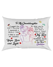 I hugged this soft pillow - TAGOTEE Rectangular Pillowcase back