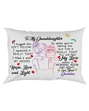 I hugged this soft pillow - TAGOTEE Rectangular Pillowcase front