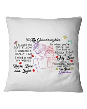 I hugged this soft pillow - TAGOTEE Square Pillowcase thumbnail