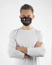 I'm deaf If I don't respond Cloth face mask aos-face-mask-lifestyle-14