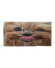 Yorkshire Terrier  Cloth face mask front