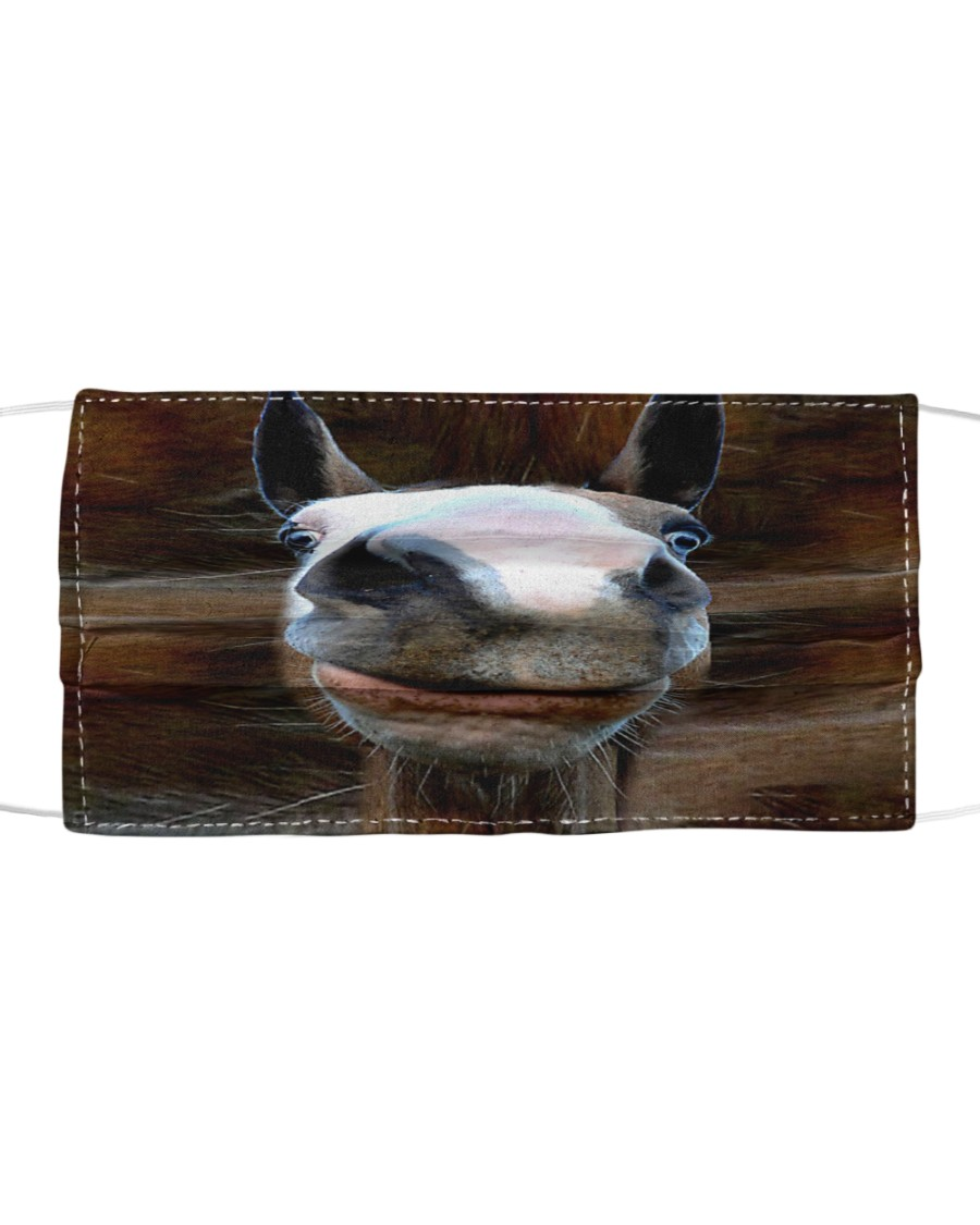 Horse 3D  Cloth face mask