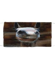 Horse 3D  Cloth face mask front