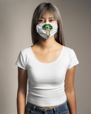Weed lips Not today bitch  Cloth face mask aos-face-mask-lifestyle-15