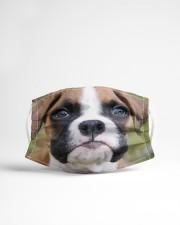 Boxer Dog 3D  Cloth face mask aos-face-mask-lifestyle-22