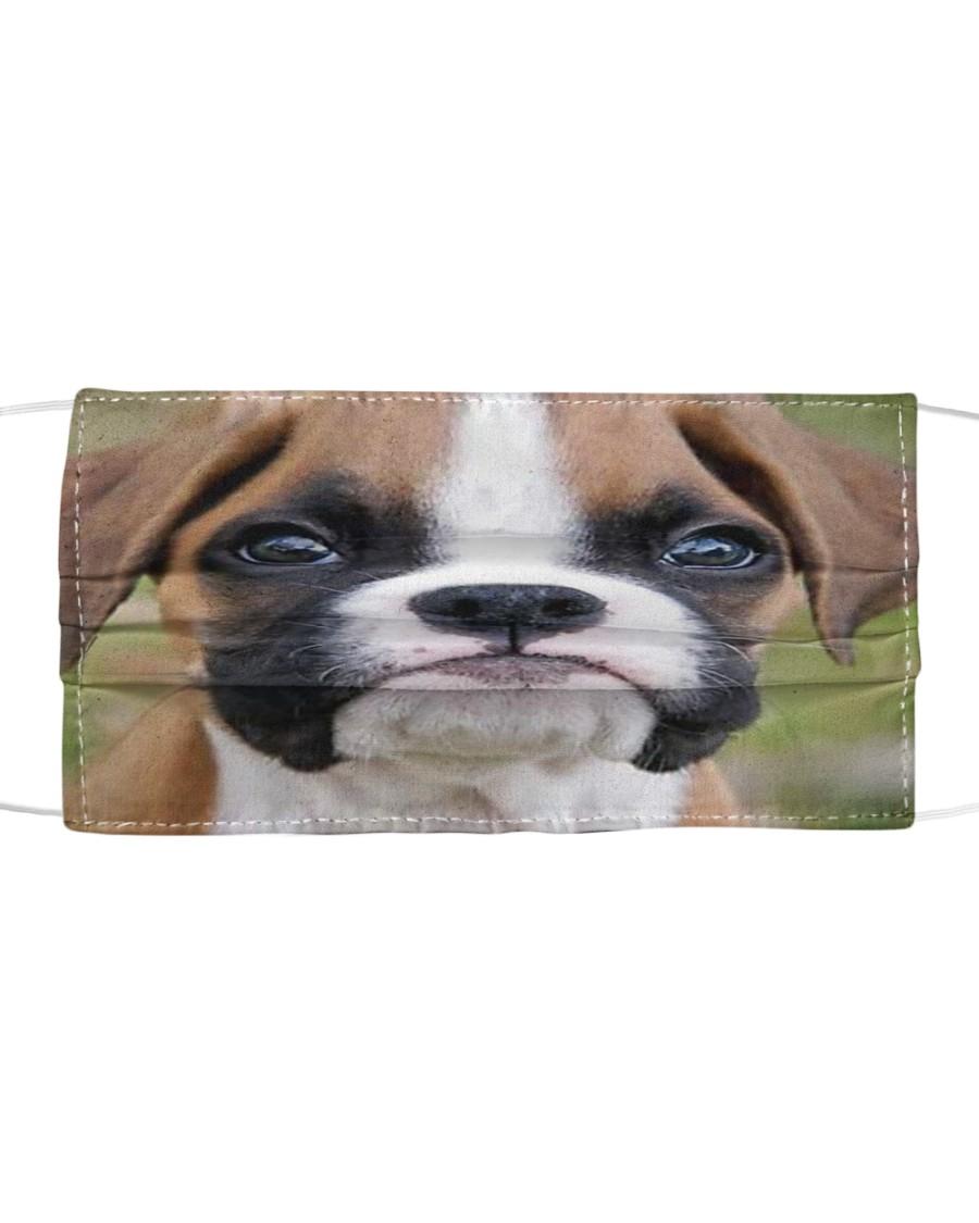 Boxer Dog 3D  Cloth face mask