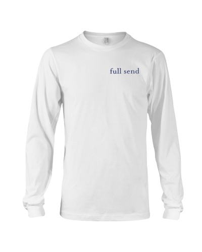 full send whale shirt