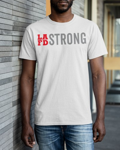 Jennifer Garner lafd strong shirt
