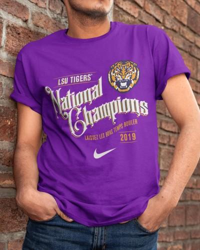 LSU Tigers National Champions Shirt