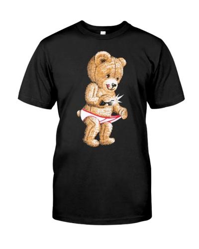Giannis Burner Teddy bear snap t shirt