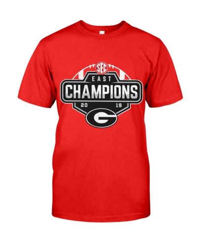 Georgia Bulldogs Branded 2019 SEC Shirt Jersey