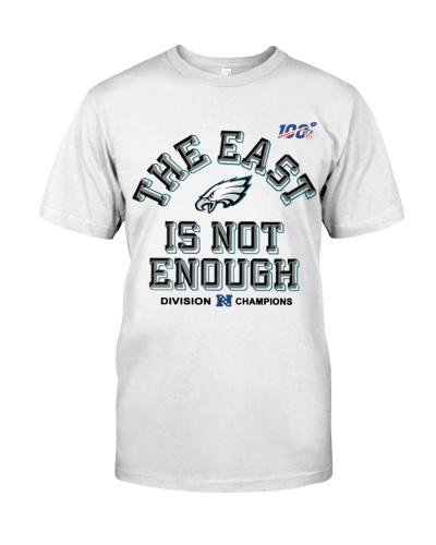The East Is Not Enough Philadelphia Eagles T Shirt