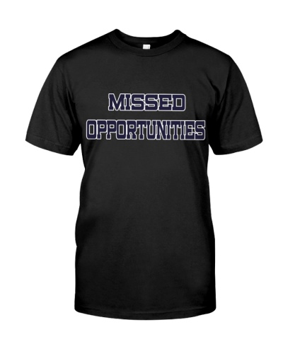 Ron Rivera Missed Opportunities Shirt Jersey