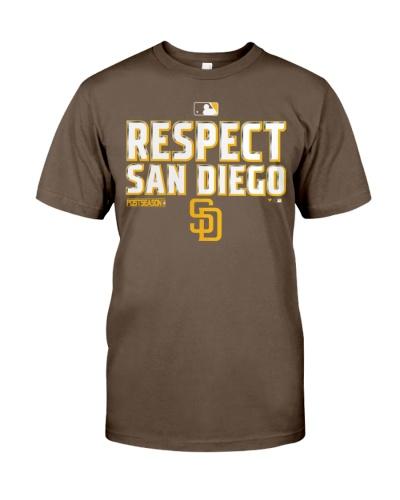 respect san diego t shirt