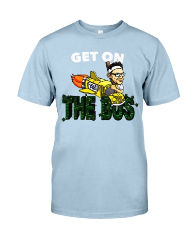 cubs get on the bus t shirt