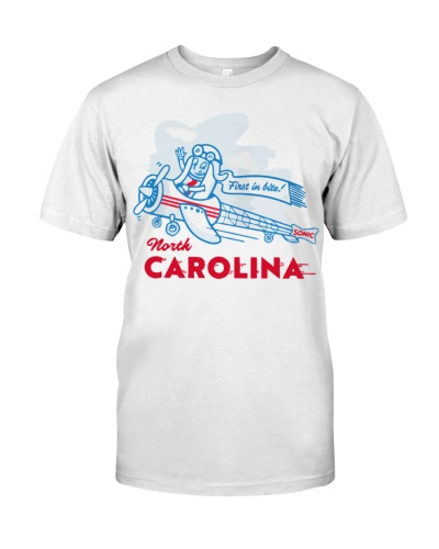 north carolina sonic t shirt