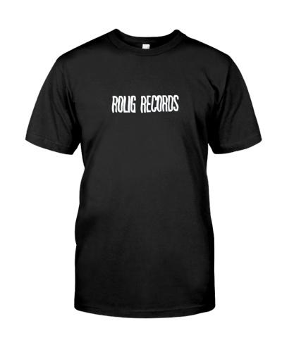 rolig records shirt