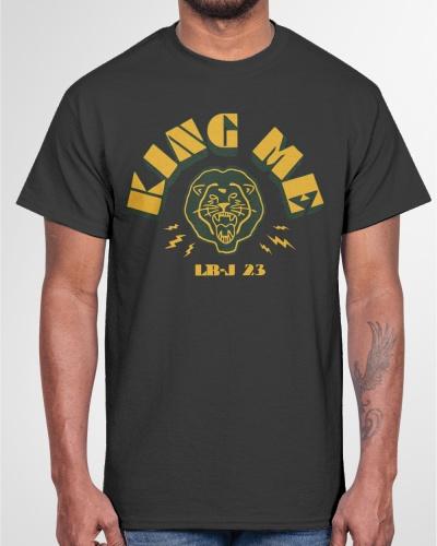 lebron king me shirt