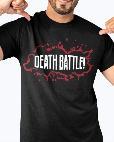 death battle logo shirt