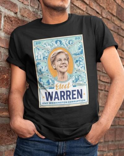 Elect Warren Fitted Shirt