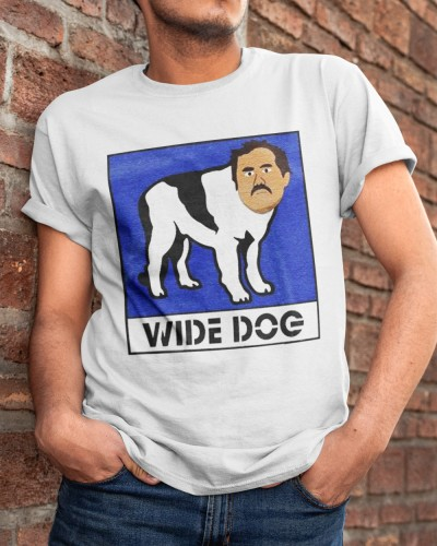 Wide Dog Tee Barstool Sports T Shirts