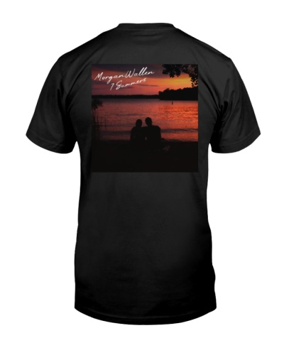 morgan wallen 7 summers t shirt