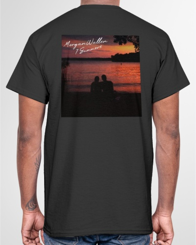 morgan wallen 7 summers shirt